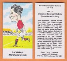Manchester United Clarence Hilditch 15